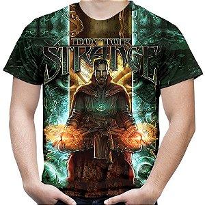 Camiseta Masculina Doutor Estranho Estampa Total MD04