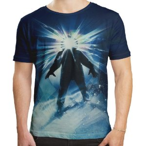 Camiseta Masculina O Enigma De Outro Mundo The Thing