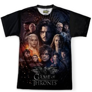 Camiseta Masculina Game Of Thrones MD07