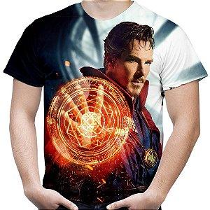 Camiseta Masculina Doutor Estranho Estampa Total MD03