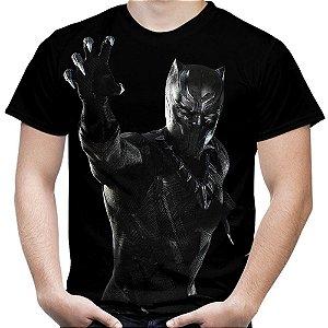 Camiseta Masculina Pantera Negra Mod 01