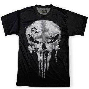 Camiseta Masculina Justiceiro Punisher Traje