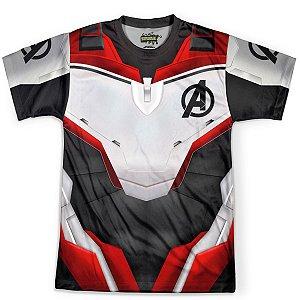 Camiseta Masculina Vingadores Ultimato Endgame Traje