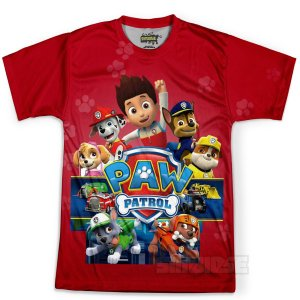 Camiseta Masculina Patrulha Canina - MD03