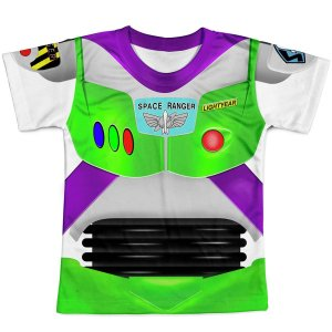 Camiseta Infantil Toy Story Buzz Lightyear Traje