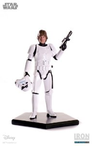 Luke Skywalker Stormtrooper Disguise - Star Wars Serie 3 - 1/10 Art Scale
