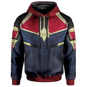 Moletom com Capuz Capitã Marvel Md02