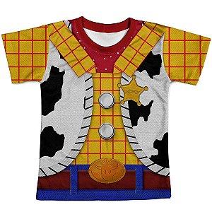Camiseta Infantil Toy Story Woody Traje