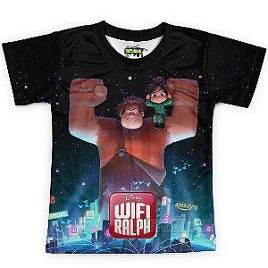Camiseta Infantil WiFi Ralph Md01