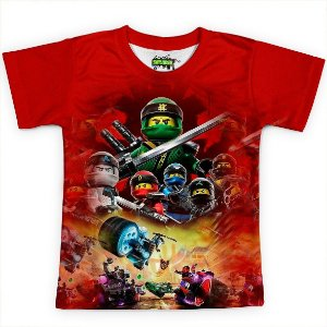 Camiseta Infantil Lego Ninjago