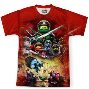 Camiseta Masculina Lego Ninjago