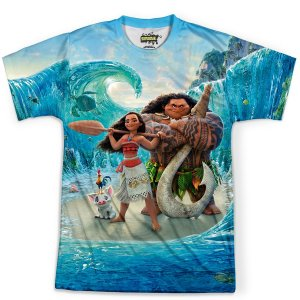 Camiseta Infantil Moana