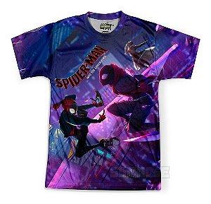 Camiseta Masculina Homem-Aranha no Aranhaverso Md09