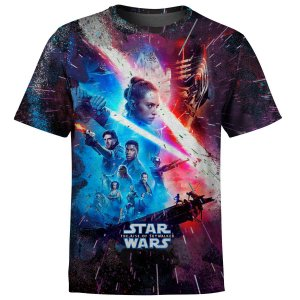 Camiseta Infantil Star Wars IX A Ascensão Skywalker Md06