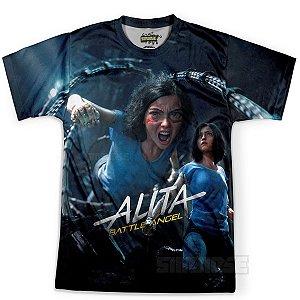 Camiseta Infantil Alita Anjo de Combate MD01