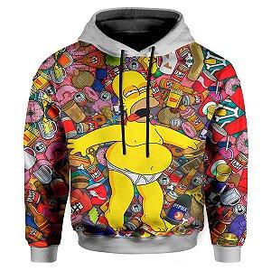 Moletom Infantil Com Capuz Simpsons MD01