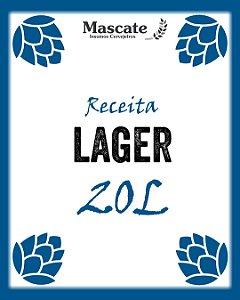 Receita lager - 20L