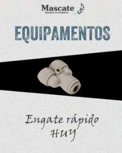 Engate Rápido Tipo Huy - 3/8 - 3/8G