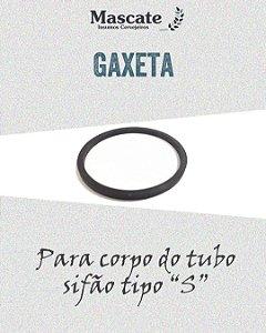 """GAXETA PARA SIFÃO TIPO """"S"""""""