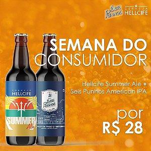 Combo - Seis Punhos Weiss + Hellcife Summer Ale