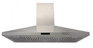 Coifa Ômega 125 Profissional, Filtro Inercial, Capacidade sucção 1.100m³/h, Aço Inox 304-Evol