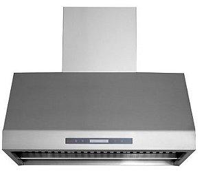 Coifa Alpha 90 Profissional, Filtro Inercial, Capacidade sucção 1.600m³/h, Chaminé retrátil até 90cm, Aço Inox 304- Inox