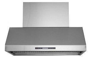 Coifa Alpha 145 Profissional, Filtro Inercial, Capacidade sucção 2.000m³/h, Chaminé retrátil até 90cm, Aço Inox 304- Inox