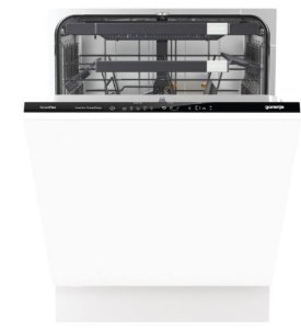 Lava-Louças de Embutir, Smart Flex Eletrônica, 16 Serviços, Inox, 220V- Gorenje