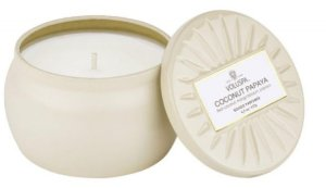 Mini vela lata Coconut Papaya -25 horas