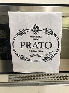 Pano de prato sacaria Premium Prato á Milanesa