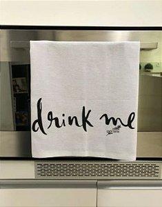 Pano de prato sacaria Premium Drink.