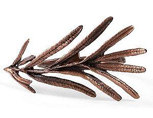 Kit com 2 anéis de guardanapo - Alecrim