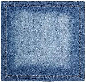 Guardanapo (Kit com 2) Coleção Especiarias, Acervo Panelinha, Azul (Jeans), Algodão