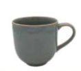 Caneca ceramica reactive grey.