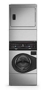 Lavadora e Secadora Conjugada Residencial Speed Queen- Elétrica - 127V - INOX
