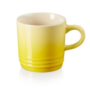 Caneca Espresso Amarelo Soleil - Lê Creuset