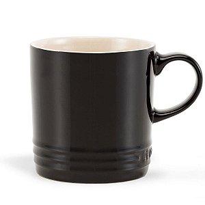 Caneca Café Black Onix  350ml - Lê Creuset