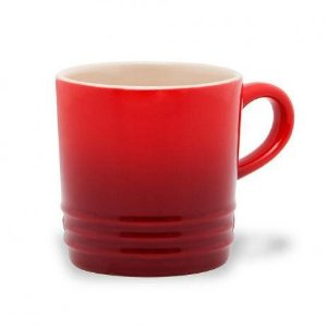 Caneca Café  350ml - Le Creuset - Vermelha Cerise