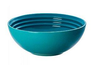 Bowl para Cereal 16 cm Azul Caribe - Lê Creuset