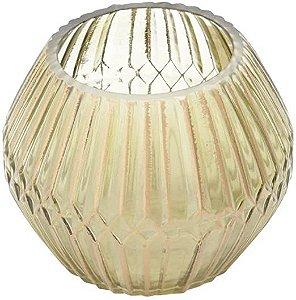 Vaso de Vidro Chinese Ballon - 15 x 15 x 12 cm