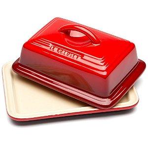 Mantegueira de Cerâmica Vermelho - Lê Creuset