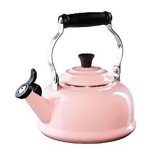 Chaleira com apito tradicional 1,6 litros Chiffon Pink - Lê Creuset
