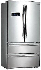 Refrigerador French Door, 590 litros, Inox, Inverter, Crissair, 220V