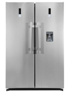 Refrigerador 350 litros + freezer 260 litros combinado Twin Set, Inox, Crissair, 220V