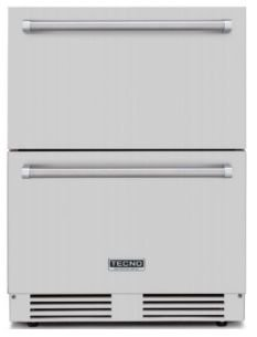 Gaveta refrigerada, totalmente em INOX - Outdoor - 135 litros -Tecno