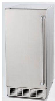 Máquina de gelo, totalmente em INOX, Outdoor - capacidade 30Kg por dia - gaveta 12Kg- Tecno