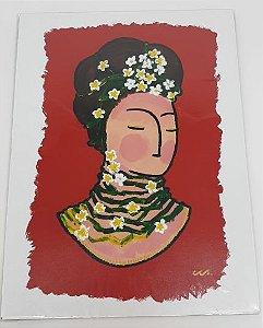 Obra de Arte Frida Primavera  - Artista Cristovão CCS.