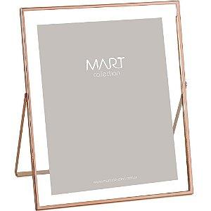 Porta Retrato em metal 20x25 Rose Gold - Mart Collection