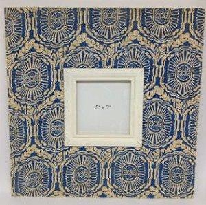 Quadro de Juta -Germânia 40x40x3 cm