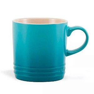 Caneca Café 350ml Azul Caribe - Le Creuset